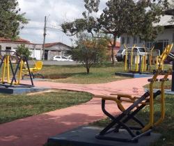 Academia ao Ar Livre em Santo Antônio do Jardim