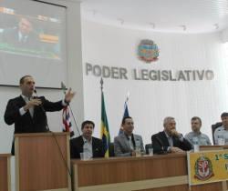 1º Simpósio de Segurança Pública do Interior em Cesário Lange