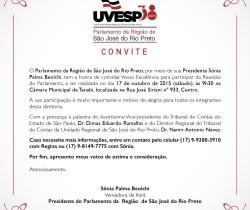 Parlamento da Região de São José do Rio Preto realiza evento