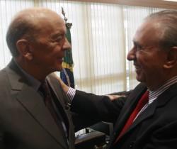 Presidente da UVESP em encontro com o Ministro de Relações Exteriores