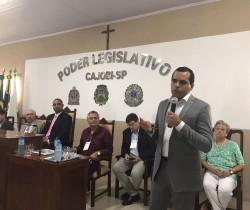 UVESP REUNIU VEREADORES DE TODA A REGIÃO EM CAJOBI