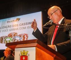 Turismo como segmento econômico, cassinos e jogos são destaques da palestra do Deputado Herculano Passos