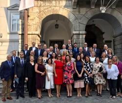 Eslovênia recebe comitiva de Brasileiros, até dia 24, Liubliana é palco do WOCA 2018