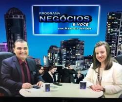 Programa Negócios & Você falando sobre o CONEXIDADES