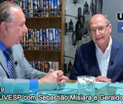 Live da UVESP com Sebastião Misiara e Geraldo Alckmin