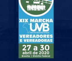 Marcha dos Vereadores e Vereadoras 2020