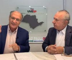 Live da Uvesp com o médico Geraldo Alckmin e Sebastião Misiara