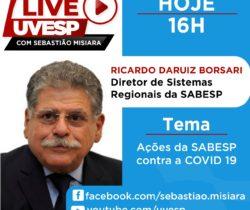 Live da Uvesp com Ricardo Daruiz Borsari e Sebastião Misiara
