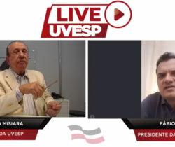 Live da Uvesp com Fábio Porta e Andrea Duarte direto da Itália e Portugal