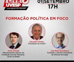 Live UVESP – Formação Política em Foco